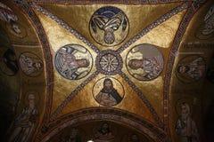 Azotea del monasterio de Osios Loukas Fotografía de archivo libre de regalías
