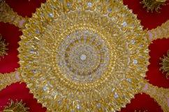 Azotea del templo Foto de archivo libre de regalías