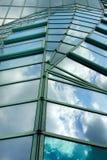 Azotea del vidrio de Moder Fotografía de archivo libre de regalías