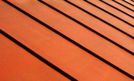 Azotea metálica Foto de archivo libre de regalías