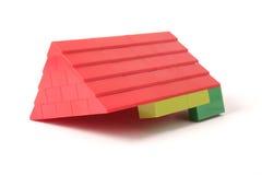 Azotea roja Imagen de archivo libre de regalías