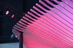 Azotea rosada Fotos de archivo