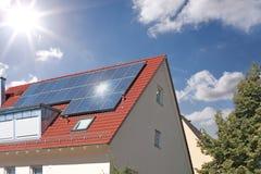 Azotea solar Fotos de archivo