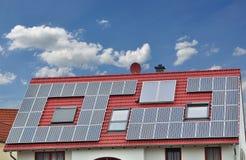 Azotea solar. imagen de archivo libre de regalías