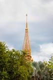 Azotea tailandesa del templo Imagen de archivo libre de regalías