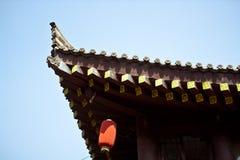 Azotea tradicional china Fotografía de archivo libre de regalías