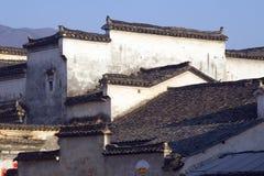 Azoteas de Hongcun Imágenes de archivo libres de regalías