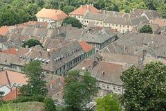 Azoteas de la aldea Imagen de archivo