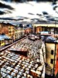 Azoteas de la ciudad Imágenes de archivo libres de regalías