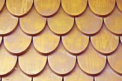 Azoteas de madera viejas Fotografía de archivo