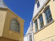 Azoteas de Nassau Bahamas Imágenes de archivo libres de regalías