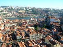 Azoteas de Oporto en Portugal Foto de archivo