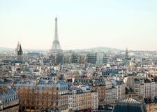 Azoteas de París Foto de archivo libre de regalías
