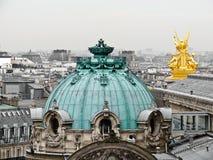 Azoteas de París Imagen de archivo libre de regalías