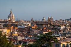 Azoteas de Roma Fotos de archivo