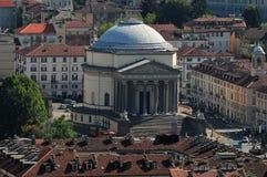 Azoteas de Torino Imagen de archivo libre de regalías