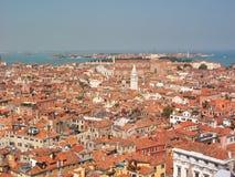 Azoteas de Venecia Foto de archivo