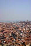 Azoteas de Venecia fotos de archivo libres de regalías