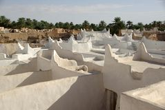 Azoteas en Ghadames, Libia Imágenes de archivo libres de regalías