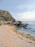 azov海边 库存图片
