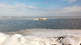 Azov θάλασσα Στοκ φωτογραφία με δικαίωμα ελεύθερης χρήσης