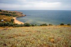 Azov τοπίο στοκ φωτογραφία
