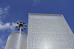 Azrieli摩天大楼英特尔Aviv 免版税图库摄影