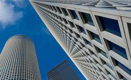 Azrieli Center. Tel-Aviv Azrieli Center Skyscrapers royalty free stock photo