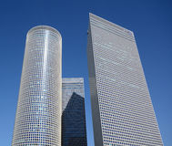 Azrieli Center. In Tel Aviv, Israel. At 187m, the round building is the tallest in Tel Aviv royalty free stock images