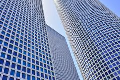 Azrieli Center at 187m. The round building is the tallest in Tel Aviv royalty free stock photo