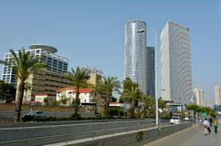 Azrieli Center in Tel Aviv - Israel Royalty Free Stock Photography