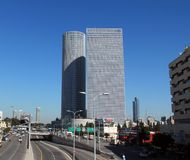 Azrieli centrum Obrazy Royalty Free