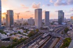 Azrieli-Mitte, Tel Aviv lizenzfreie stockfotos