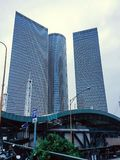 Azrieli Shopping and Business Center in Tel Aviv , Israel Royalty Free Stock Photography