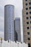 Azrieli skyscrapers in Tel-Aviv Stock Photography