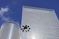 Azrieli skyscrapers in Tel-Aviv Royalty Free Stock Photography