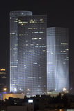 Azrieli tower in night Stock Photography