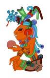 Aztèque illustration stock