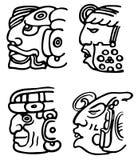 Aztèques Photos stock