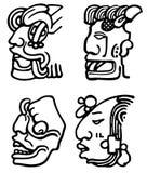 Aztèques Images stock