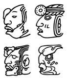 Aztèques Photos libres de droits
