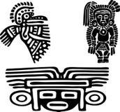 Aztèques Photographie stock libre de droits