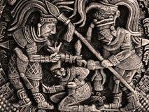 Aztèques Photo libre de droits
