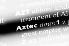 aztec stock foto's