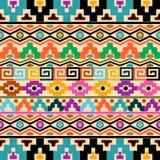 Aztec bakgrund Royaltyfri Bild