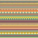 aztec bezszwowy deseniowy Zdjęcie Stock