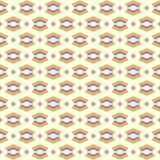 Aztec bezszwowy kolorowy wzór Zdjęcie Royalty Free