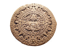 Aztec Calendar Royalty Free Stock Photography