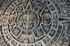 Aztec calendar. Mexican heritage and traditions Stock Photo