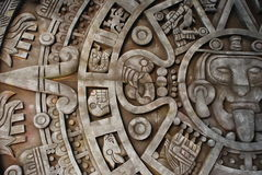 Aztec calendar. Mexican heritage and traditions Royalty Free Stock Photography